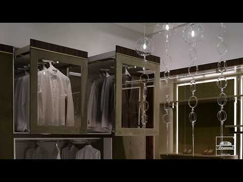 Hi-Tech Wardrobe - Automatic Walk In Closet | Brummel