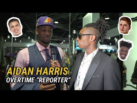 Future NBA Draft Pick Aidan Harris Igiehon Interviews Luka Doncic, Grayson Allen & Wayyy More 😱