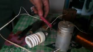 Катушка Тесла  для остановки счетчика электроэнергии №2