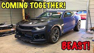 Rebuilding A Wrecked 2018 Camaro ZL1 Part 13