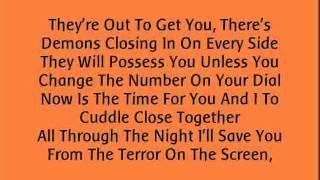 Michael Jackson - Thriller. (Lyrics).