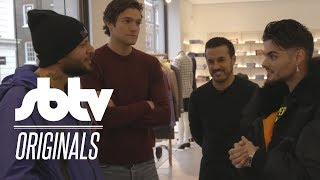 Discovering London With | Man Like Haks x Pedro x Marcus Alonso (Chelsea FC) x Abraham Mateo :SBTV
