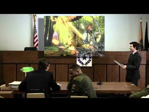 Soud s hráčem stříleček