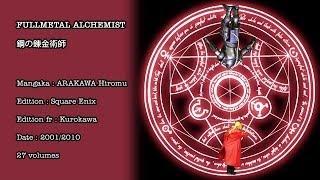 Raconte-Moi Un Manga 19 - Fullmetal Alchemist