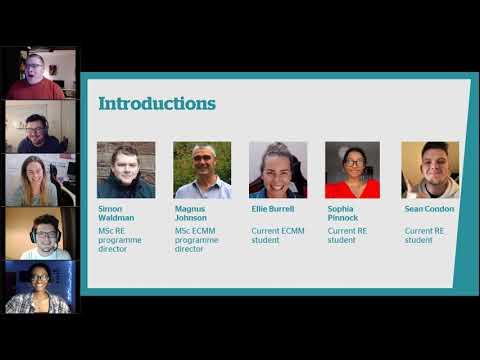 Learn about MSc Renewable Energy & MSc Environmental Change ...