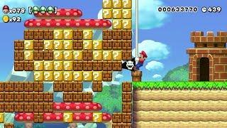 Super Mario Maker - 100 Mario Challenge #220 (Expert Difficulty)