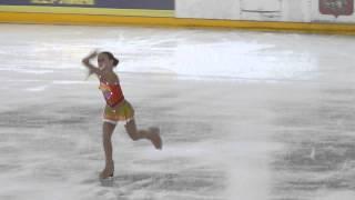 Александра Трусова, КП, Первенство Москвы (мл.возраст) 2015
