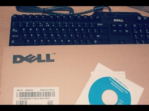 Dell Keyboard USB With Smart Card Reader – Unboxing [HD]