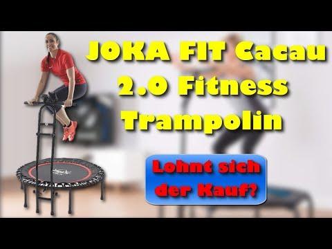 JOKA FIT Cacau 2.0 Fitness Trampolin - Lohnt sich der Kauf des Fitness Trampolins von Joka Fit?