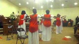 I Know I've Been Changed praise dance- Divine Grace
