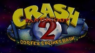 Бандикуты в Студии. Запись стрима по Crash Bandicoot 2: Cortex Strikes Back