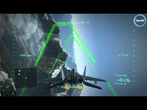 Tom Clancy's H.A.W.X. 2 HD gameplay
