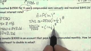 Applications Of Exponential Functions - Lesson