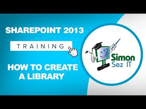Microsoft SharePoint 2013 Training Tutorial - How to Create a ...
