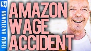 Amazon Accidentally Proved Minimum Wage Impact!