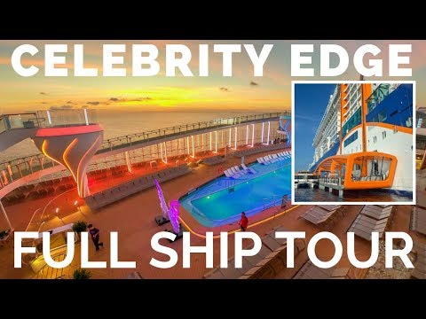 Celebrity Edge Cruise Ship Full Tour & Review – Deck by Deck
