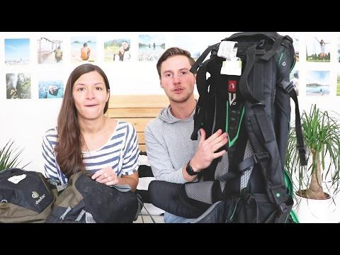 Weltreise Tag 374 • Unsere Packliste für 1 Jahr Weltreise • Vlog #050