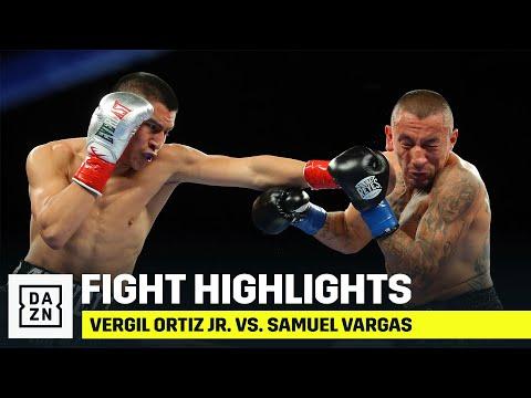 HIGHLIGHTS | Vergil Ortiz Jr. vs. Samuel Vargas