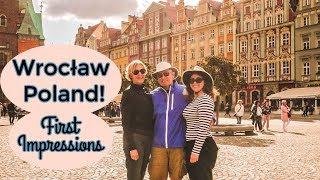 American Family's FIRST Impressions of POLAND! 🇵🇱   Wrocław & Poznań