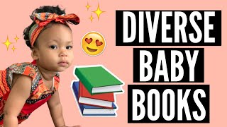 DIVERSE BABY BOOK HAUL | INCLUSIVE BOARD BOOKS FOR YOUR LITTLE ONE | VARIOUS CULTURES & COMPLEXIONS!
