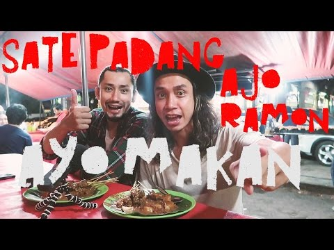 Video #MakananIndonesia | Ayo Makan | Sate Padang Ajo Ramon | Jakarta | GERRY ft. REVALDO