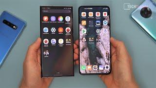 Xiaomi Mi 10 Ultra vs Samsung Galaxy Note20 Ultra Comparison Review