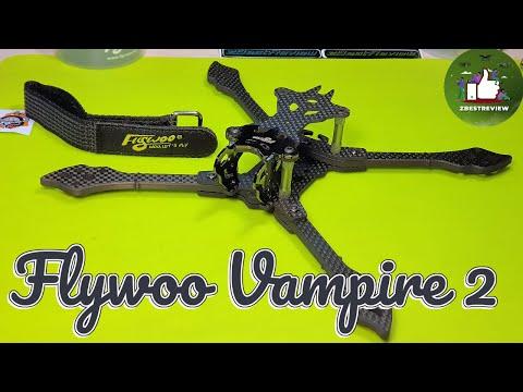 ✅ Flywoo Vampire 2 Titanium - Рама для Сборки FPV Квадрокоптера под DJI\\Аналог!
