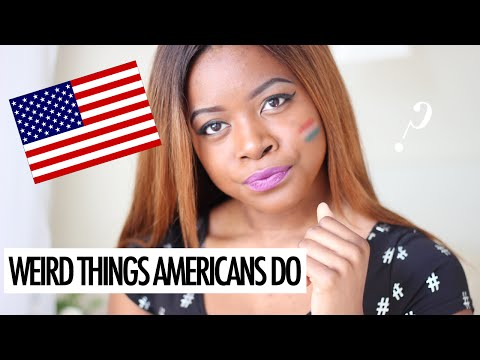 WEIRD THINGS AMERICANS DO SUB ITA