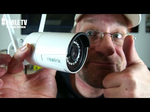 Reolink RLC-410W - 5MP WLAN/Wifi In & Outdoor Security Camera Review