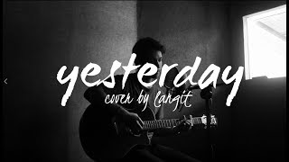 Yesterday By Beatles (Cover By Langit)