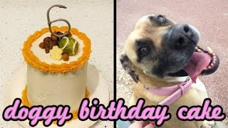 dog birthday cake without peanut butter
