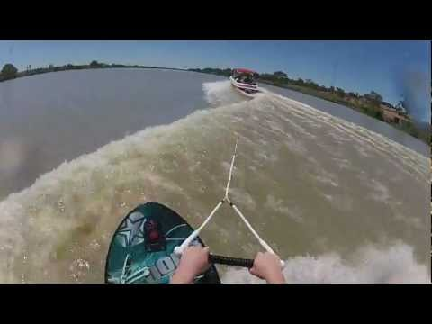 Kneeboarding for the first time