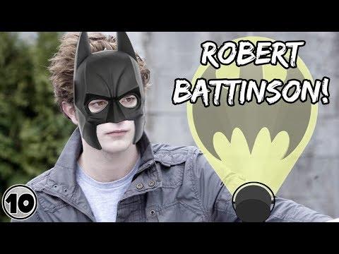Batman Cast Twilight Star Robert Pattinson To Play Dark Knight