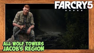Far Cry 5 All Wolf Beacons Locations Jacob's Region