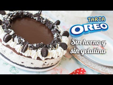 CHEESECAKE O TARTA FRÍA DE OREO   Sin horno, sin gelatina y sin complicaciones   Quiero Cupcakes!