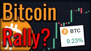 Bitcoin Pumped 7% In An Hour! July Bitcoin Rally?!