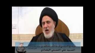 السيد علي البغدادي – ولاية الفقيه وتشكيل الحكومة الأسلامية الجزء الثالث – 2014