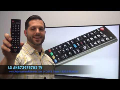 LG AKB73975702 TV Remote Control