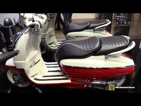 2016 Peugeot Django 150 Evasion Scooter – Walkaround – 2015 EICMA Milan