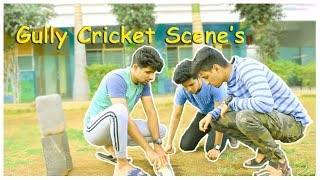 Gully Cricket Scene's | Funny Comedy Video | Azhar N Ali