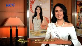 Syntia Fitriyani Layinah for Miss Indonesia 2015