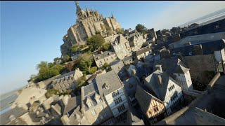 Bienvenue au Mont Saint Michel - FPV 4K