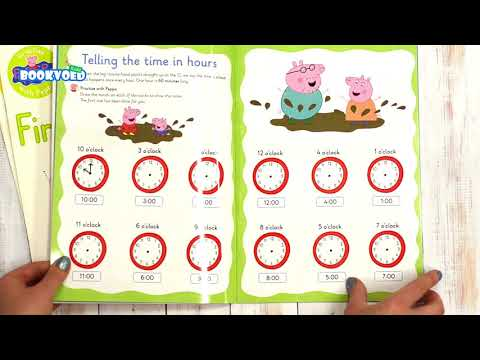 Видео обзор Peppa Pig - Wipe-clean Telling the time