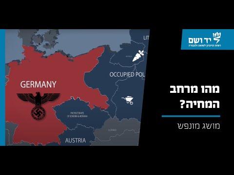 מושג בתולדות השואה: מרחב מחיה (לבנסראום)
