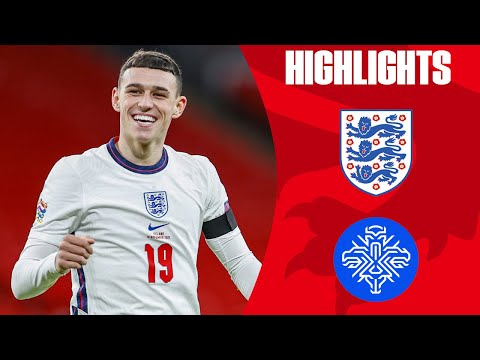 England 4-0 Iceland | Foden Scores Two & Rice's First Goal! | UEFA Nations League | Highlights