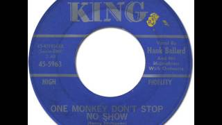 HANK BALLARD & THE MIDNIGHTERS - One Monkey Don't Stop No Show [King 5963] 1964