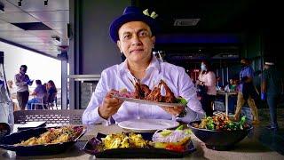 LAST LUNCH At EBONY, Bengaluru's Most Popular Multi-Cuisine Restaurant | Arcot Chops, Butter Chicken