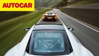 [Autocar] Honda NSX vs McLaren 570S
