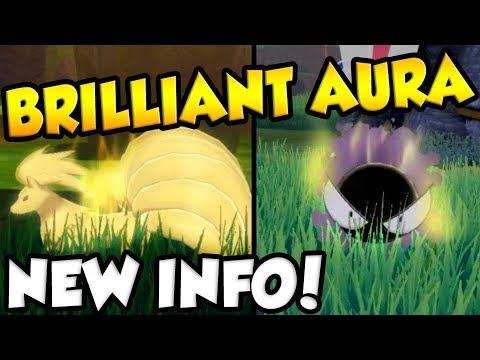 NEW DETAILS ABOUT RARE POKEMON! Brilliant Aura Pokemon Guide - Pokemon Sword and Shield!
