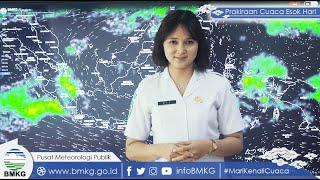 Prakiraan Cuaca BMKG, Jumat 15 Oktober 2021: 23 Wilayah Berpotensi Terjadi Cuaca Ekstrem